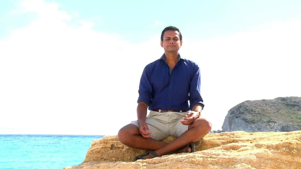 ashok meditating