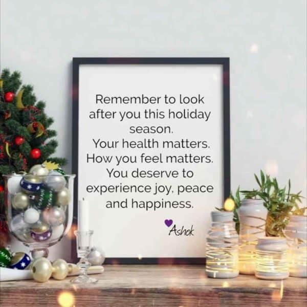 ashok holiday message
