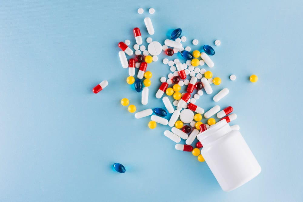 colorful-pills-plastic-bottle