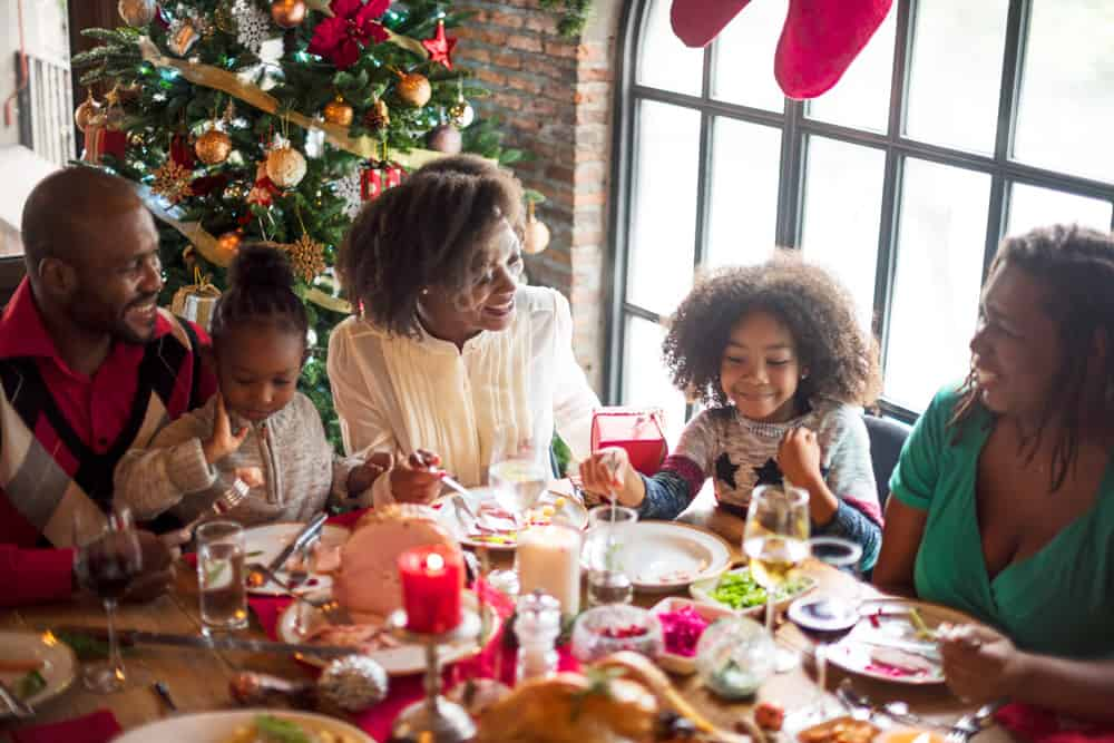group-of-diverse-people-are-gathering-for-christmas-holiday